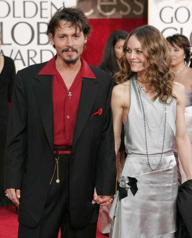 TILLSAMMANS I 14 ÅR Johnny Depp och Vanessa Paradis som stjärnan har två barns tillsammans med.