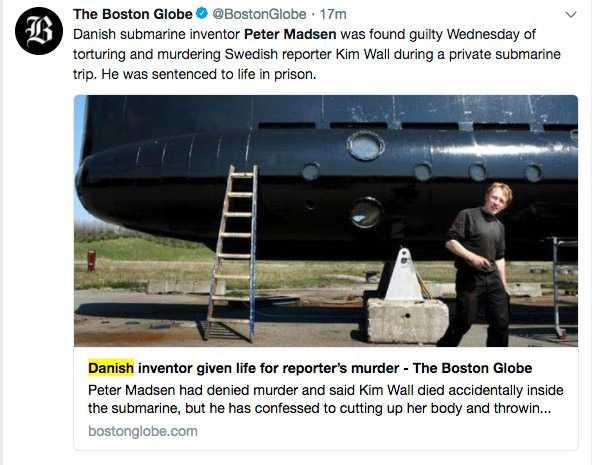 Boston Globe, USA.