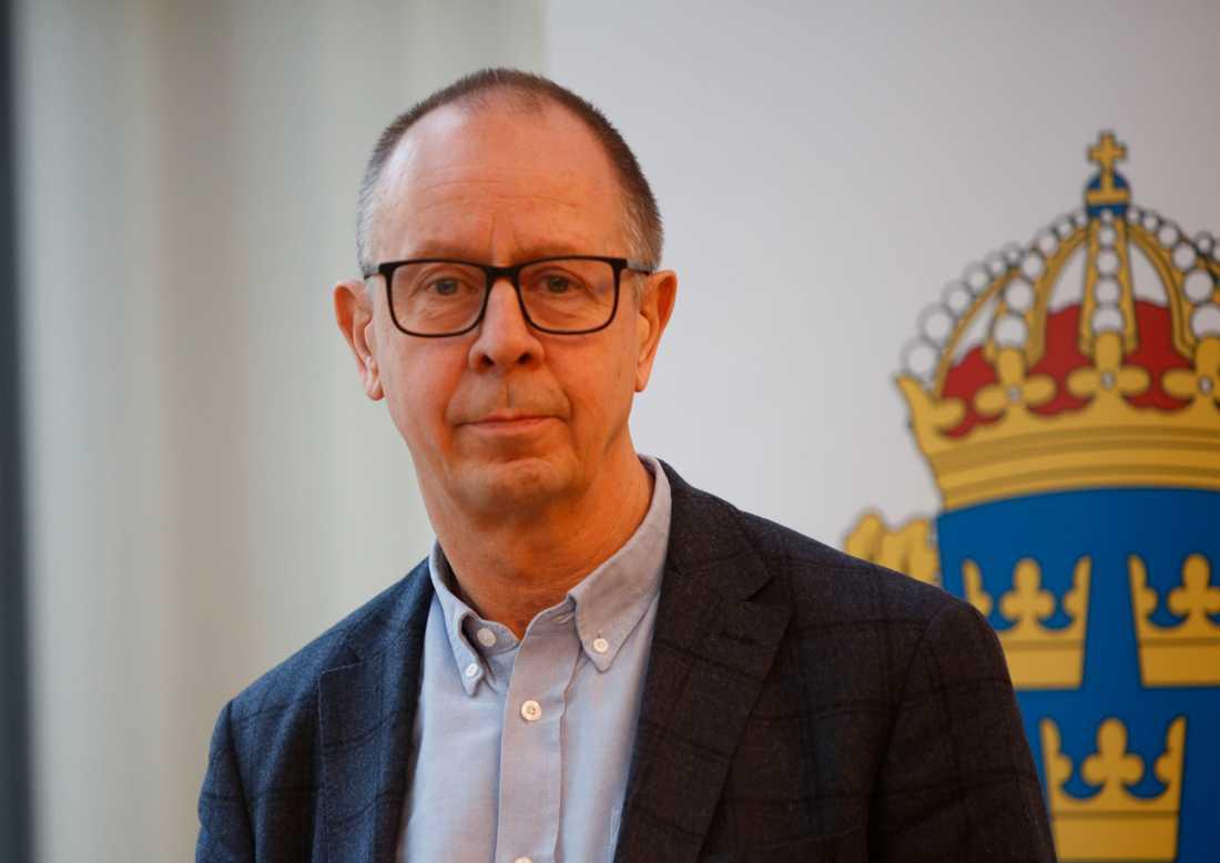 Claes-Arne Hermansson, chef sektionen för grova brott.