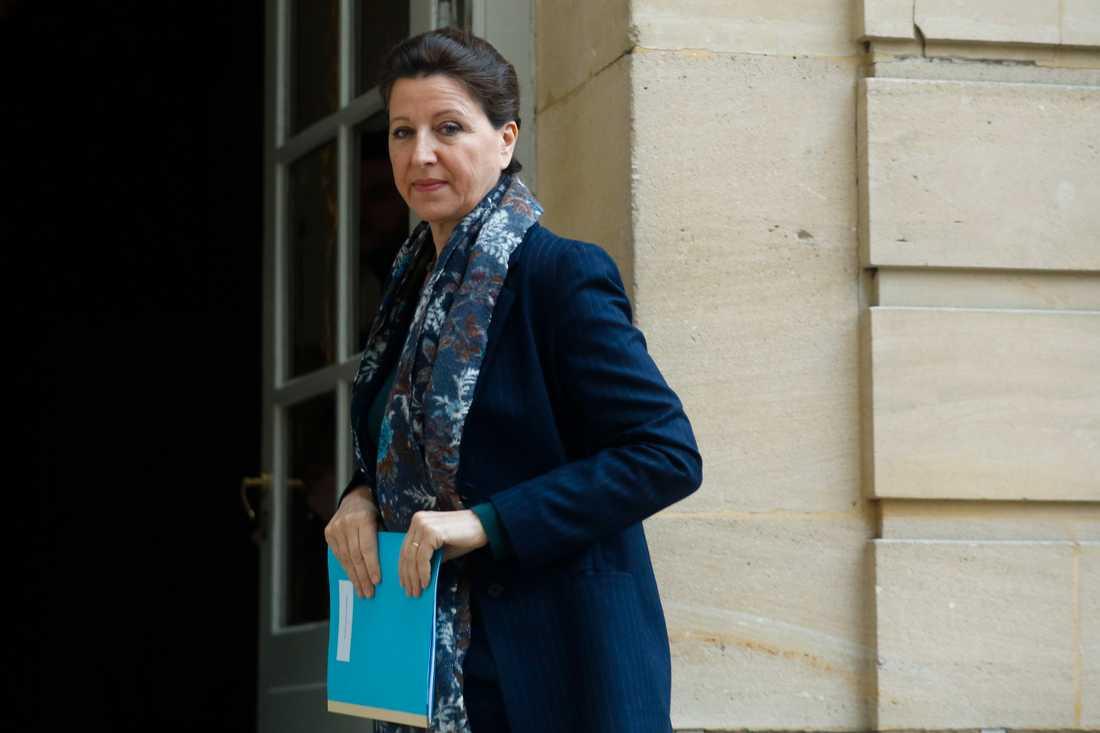 Frankrikes hälsominister Agnès Buzyn kandiderar till borgmästarposten i Paris. Arkivbild.