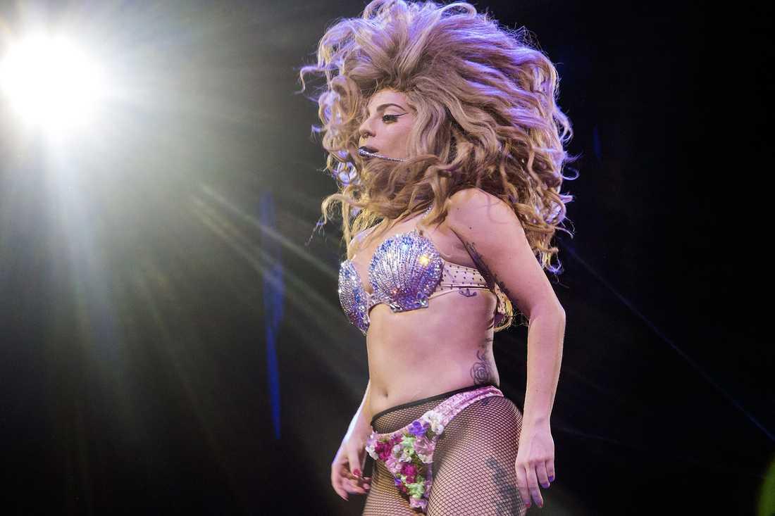 Lady Gaga i Globen 2014.