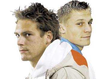 """rivalerna I kväll gäller det vem som kommer sitta på tronen till skånsk fotboll, i alla fall till nästa derby. Andreas Granqvist kommer inte sätta fingrarna emellan i mötet med Markus Rosenberg. """"Det blir alltid lite tjuvknep"""", säger han."""