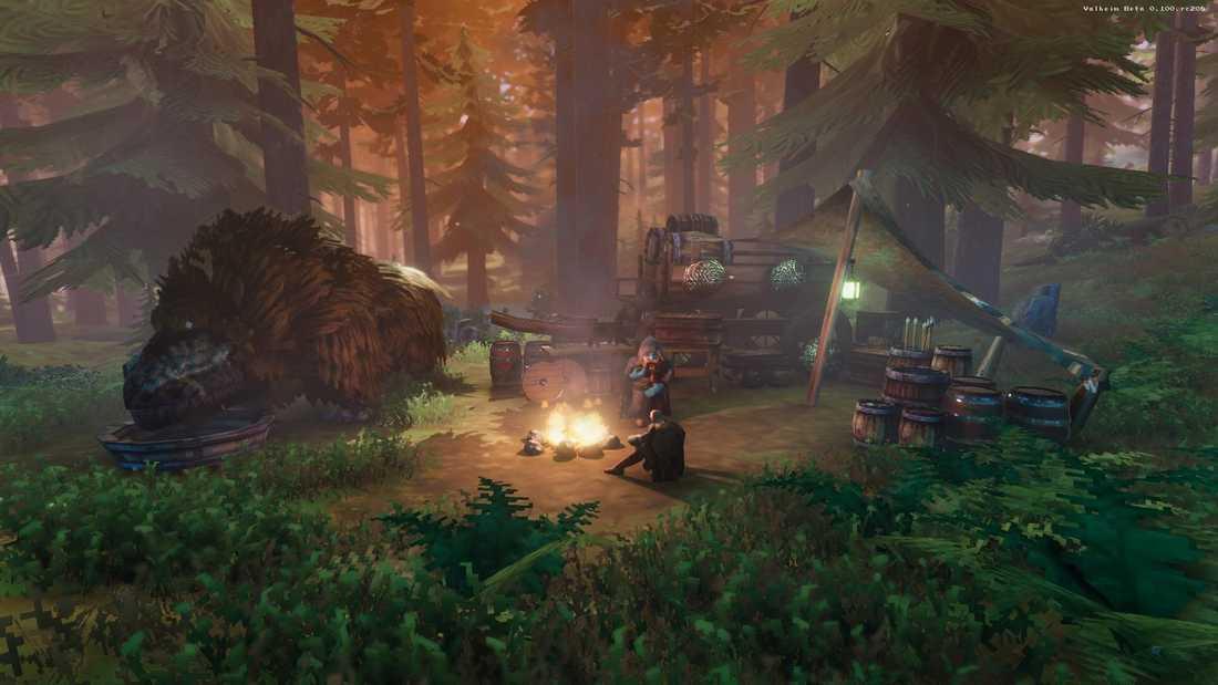 """""""Valheim"""" blandar nybyggaranda som i """"Minecraft"""" med äventyr som i """"Zelda"""". Pressbild."""