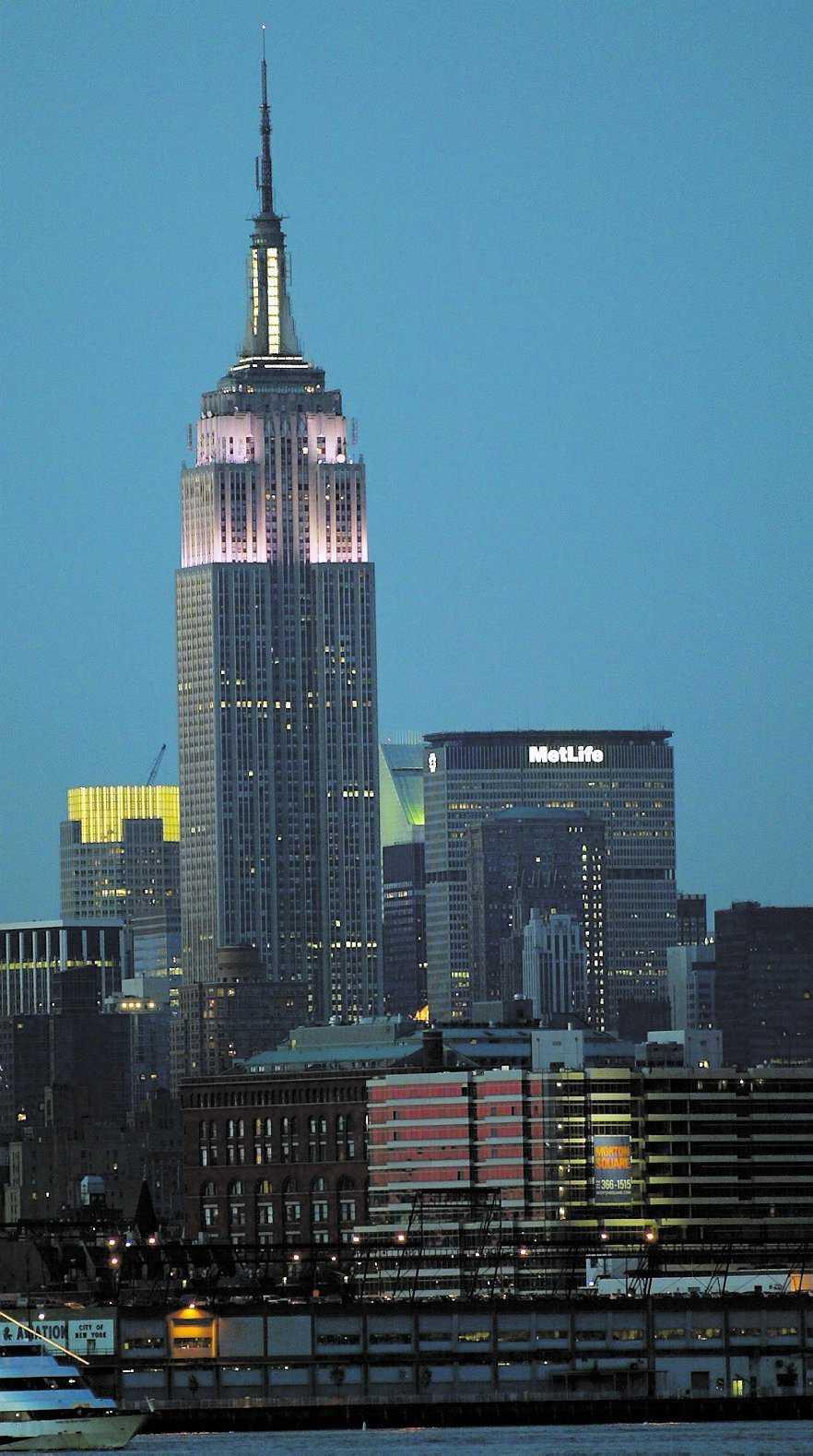 Gör som i filmens värld och ta med din dejt till Empire State Building.