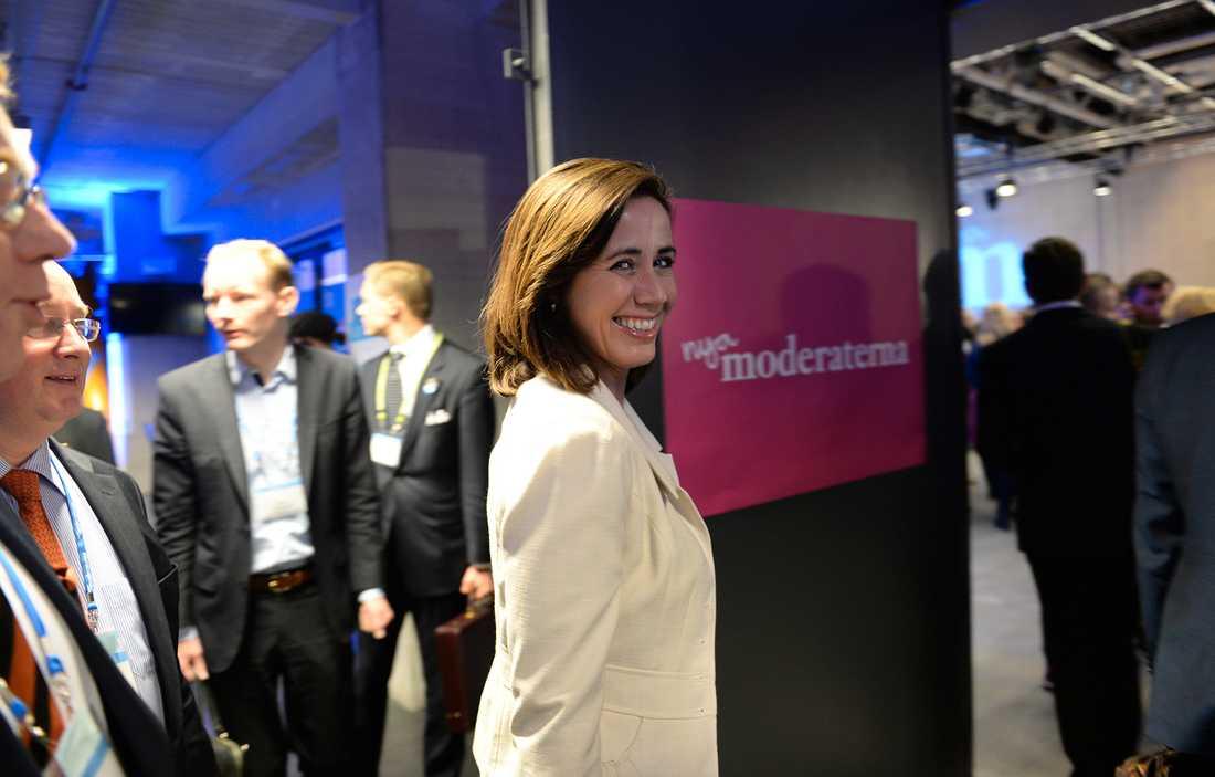 Filippa Reinfeldt på moderaternas extrastämma