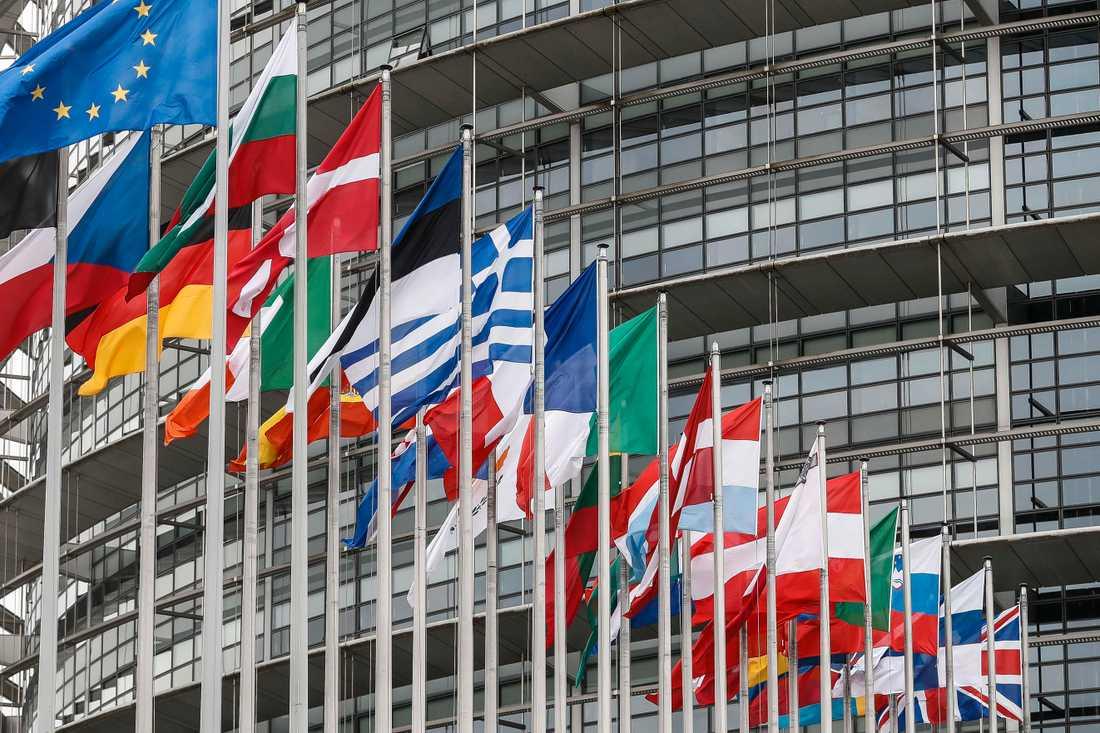 EU-parlamentet i Strasbourg. Arkivbild.