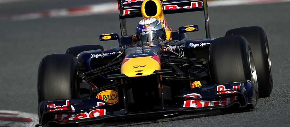 Red Bull har varit överlägset i testerna.