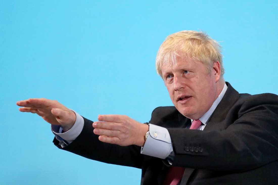 Boris Johnson är favorittippad att ta över ledarskapet för Konservativa partiet.