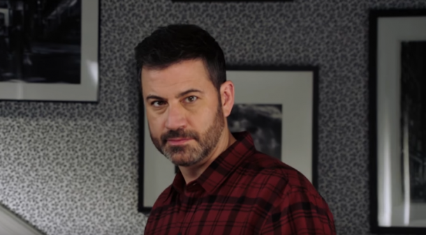 Jimmy Kimmel leder Oscarsgalan 2018.