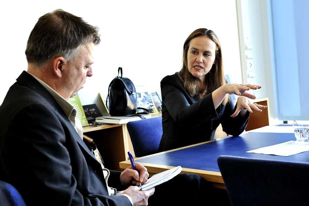 Aftonbladets Wolfgang Hansson möter Michèle Flournoy –kvinnan som kan bli USA:s nästa försvarsminister.