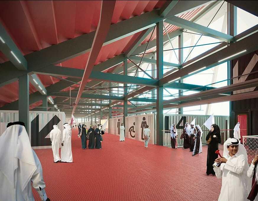 Qatar Bygger Vm Arena Av Containrar Aftonbladet