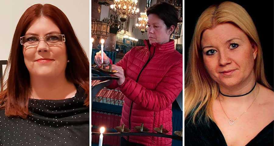 Vi vill klargöra för alla som gör media av brott vad konsekvenserna kan bli för oss anhöriga, skriver Carina Höglund, Sofie Hedman och Emma Jangestig.
