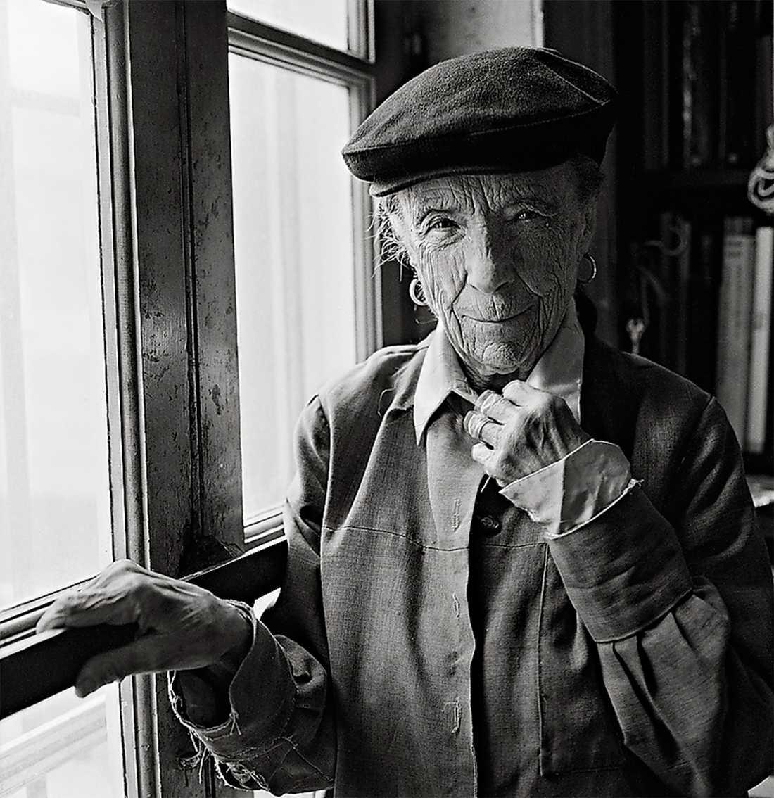 Louise Bourgeois i New York 1998. Foto: Mathias Johansson