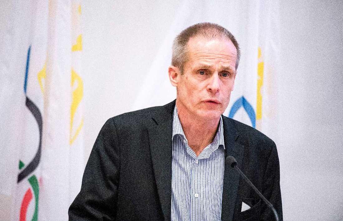 Förbundsordförande Christer Englund.