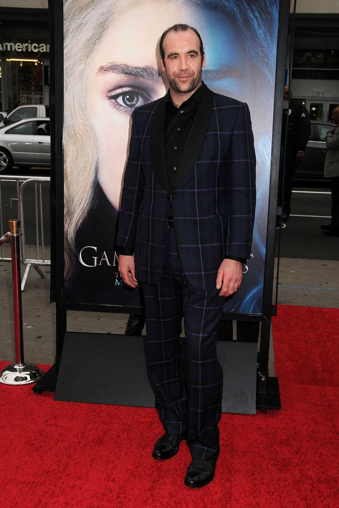 Rory som han ser ut till vardags, på premiär.