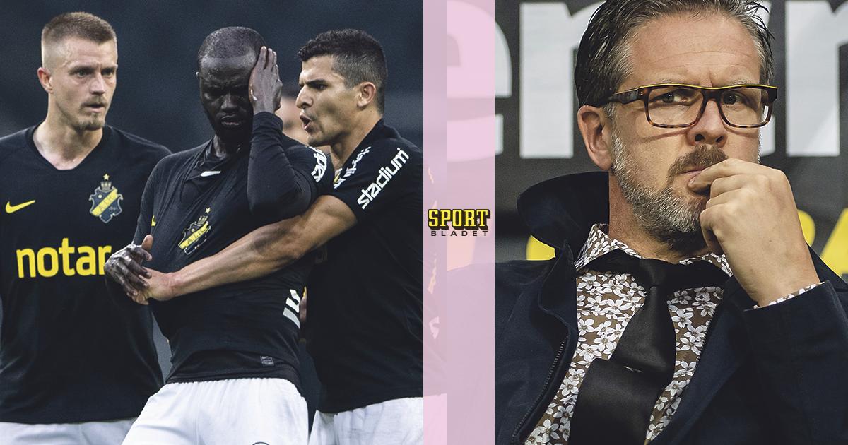 Adu borta – då förlorar AIK