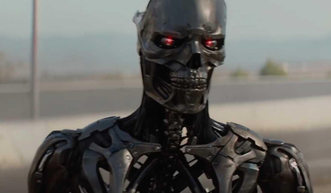 """Bekant robot i """"Terminator: Dark fate""""."""