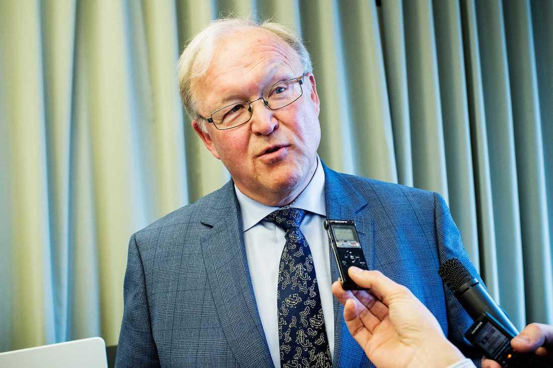 Tidigare statsministern Göran Persson i intervju om Stefan Löfvens regeringsomblidning.