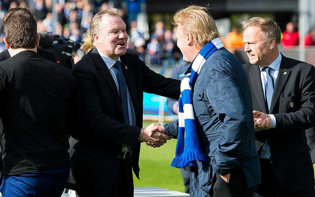 Varken Nilsson eller Lennartsson vill kommentera.