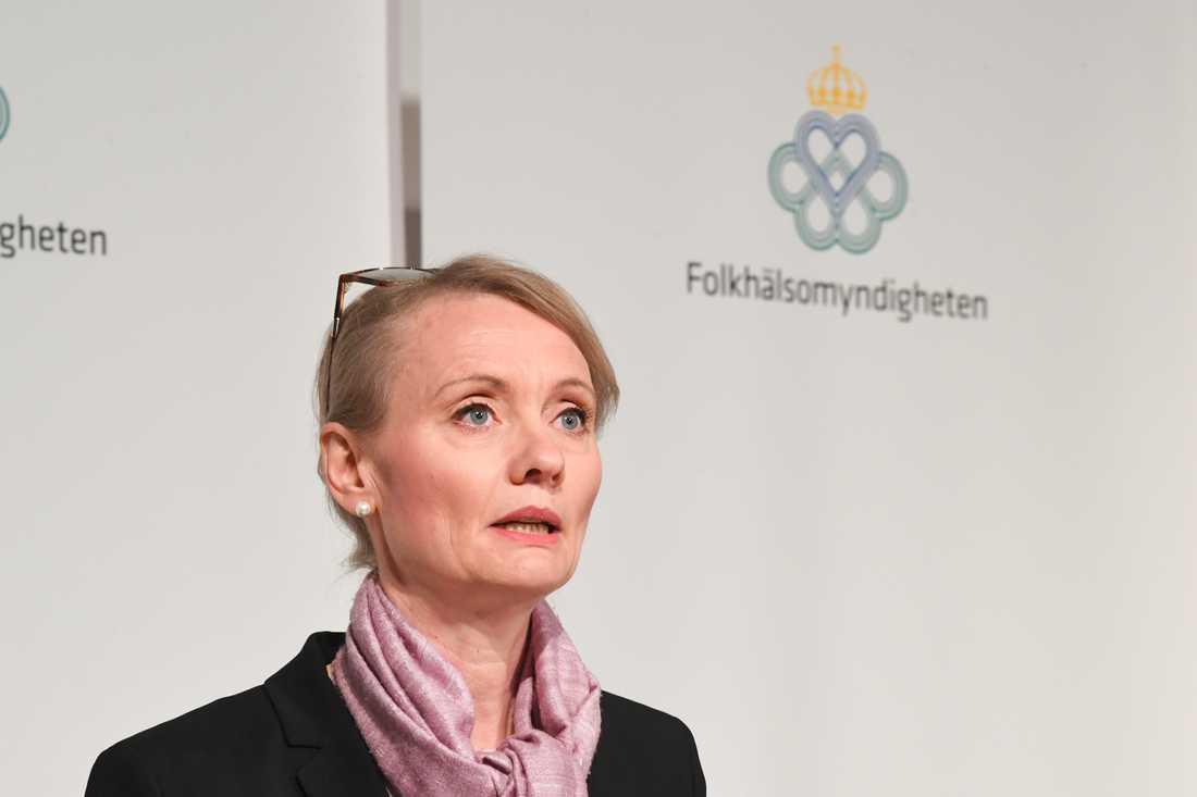 FHM:s avdelningschef Karin Tegmark Wisell.