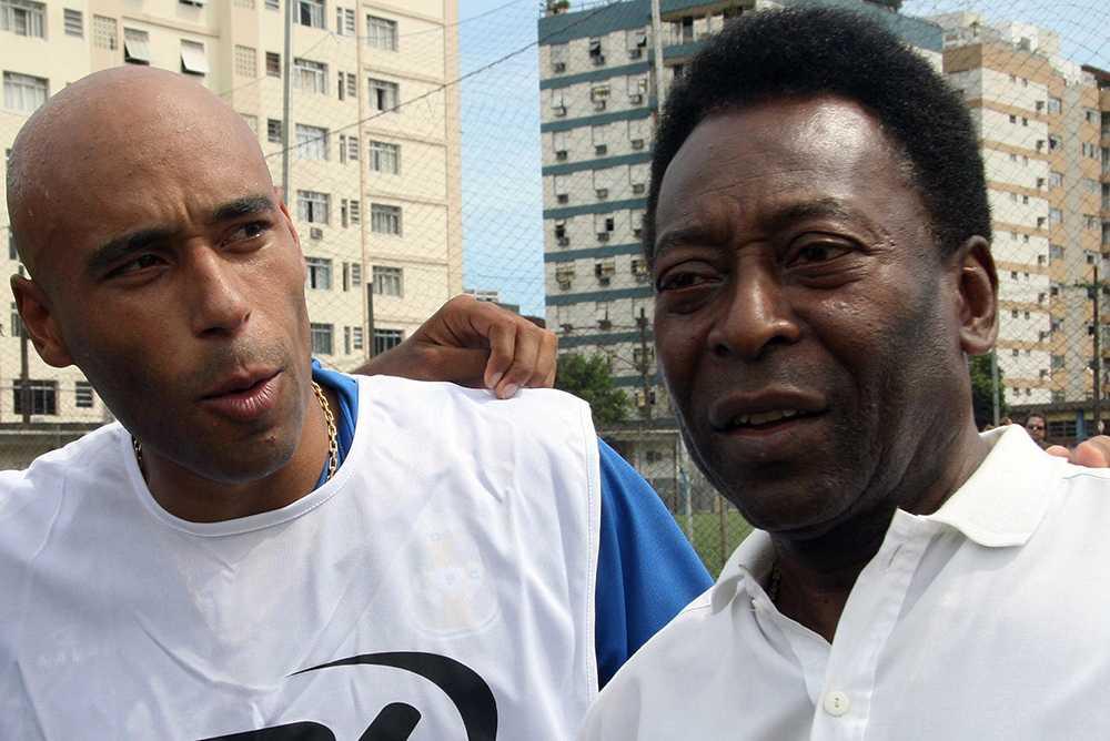 Edinho och Pelé 2007.