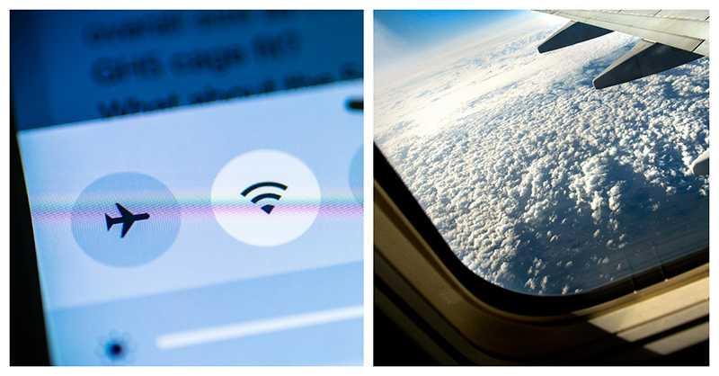 Det är alltid viktigt att ställa om till flightmode, uppmanar flygpersonal.