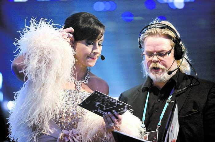 Petra Mede Melodifestivalen