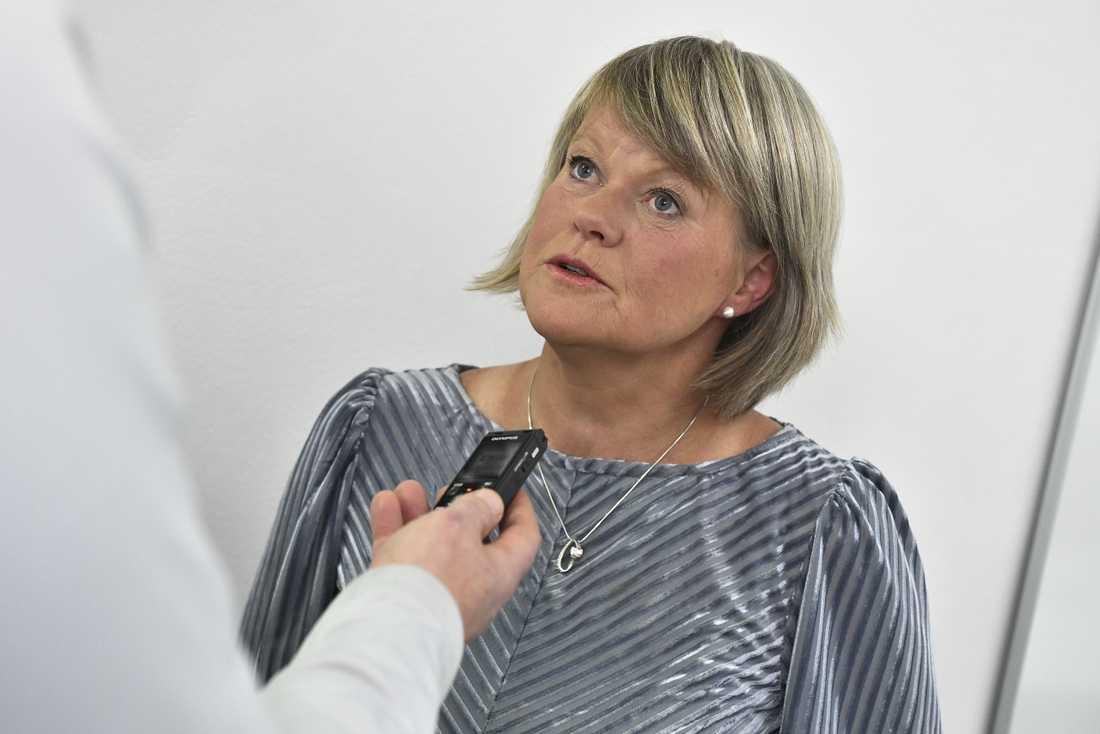 Vänsterpartiets ekonomiskpolitiska talesperson Ulla Andersson.