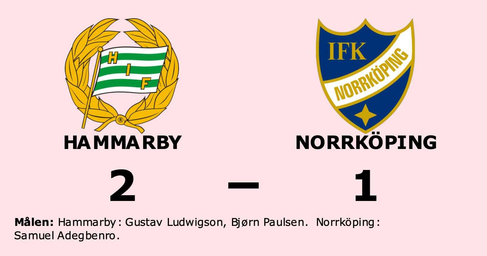 Norrköping förlorade mot Hammarby