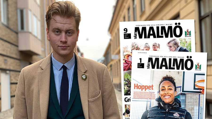Det helt obegripligt att Malmö stad konkurrerar med den fria pressen genom att varje månad dela ut runt 168 000 exemplar av tidningen Vårt Malmö. Lägg ner den, skriver Anton Sauer, Centerpartiet.