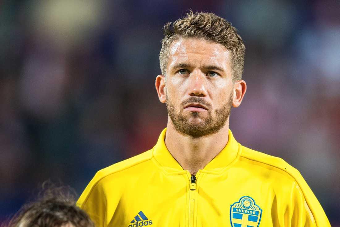 Marcus Rohdén, 28, med femton landskamper för Sverige