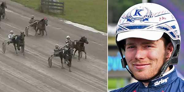Isabell Trot och Kevin Oscarsson spikas på V64.