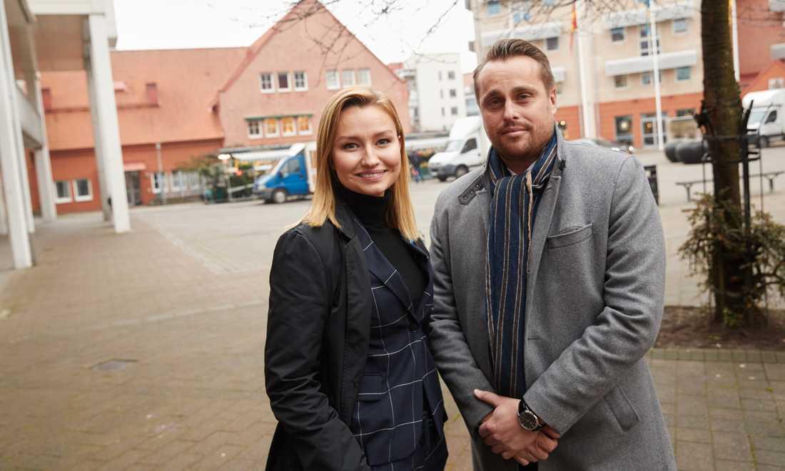Sonesson fick han stöd för reklamen från oväntat håll, då  Busch Thor besökte Staffanstorp.
