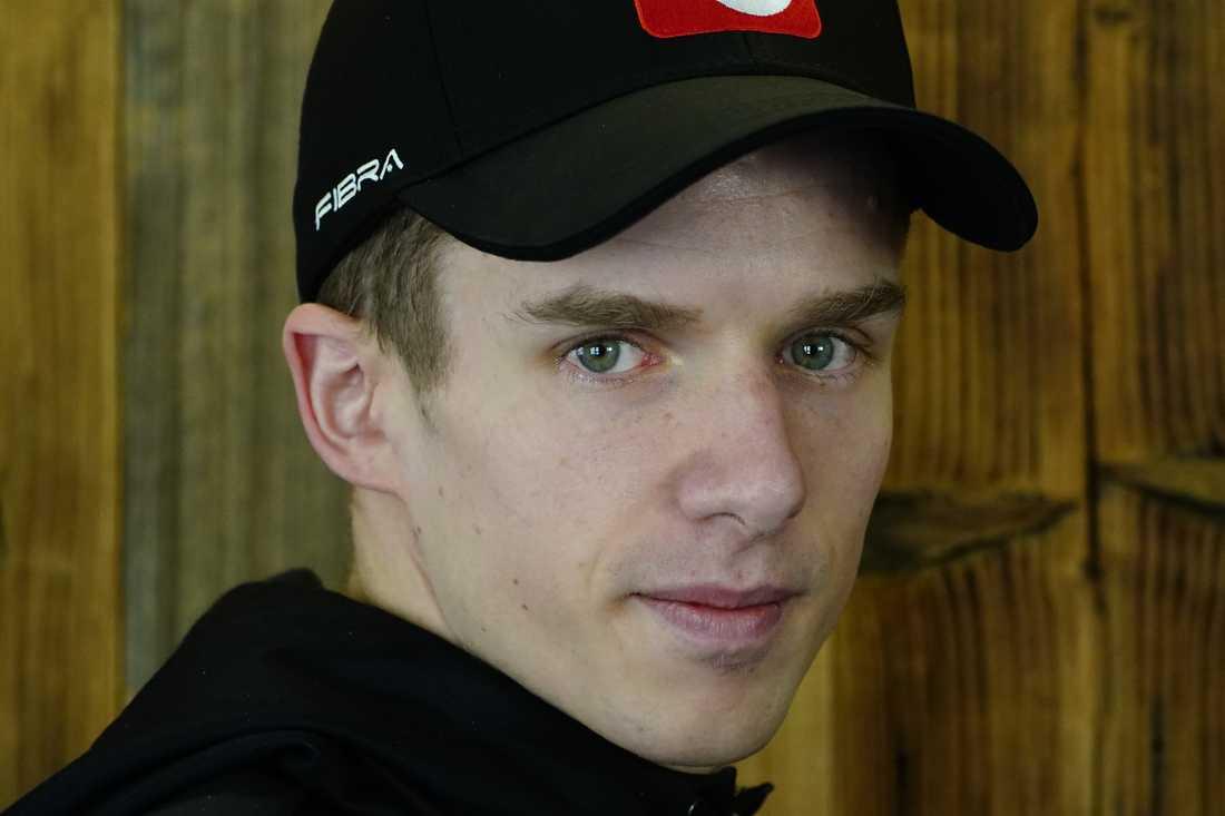 Halvor Egner Granerud har testat positivt för corona.