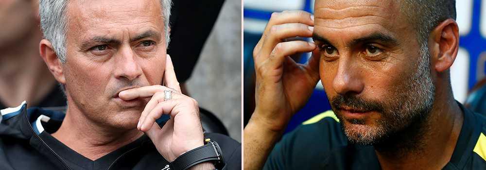 Mourinho och Guradiola.