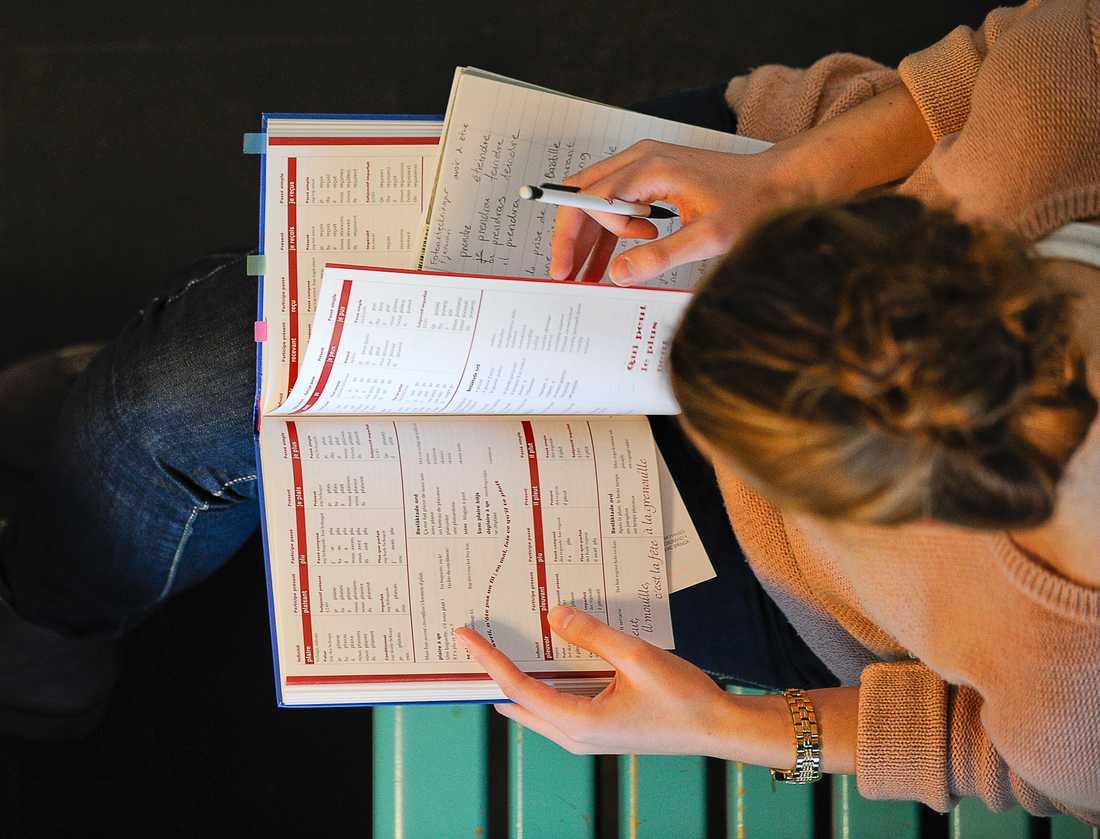Fokusera på första tentan, den är den viktigaste, anser Ingmar Andersson, expert på studieteknik. Arkivbild.