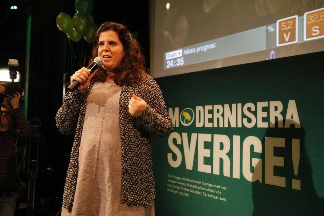 Miljöpartiets Yvonne Ruwaida.