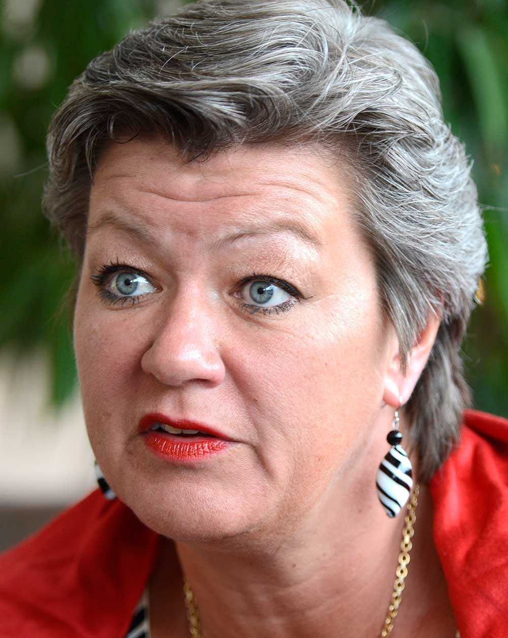 Ylva Johansson (S).