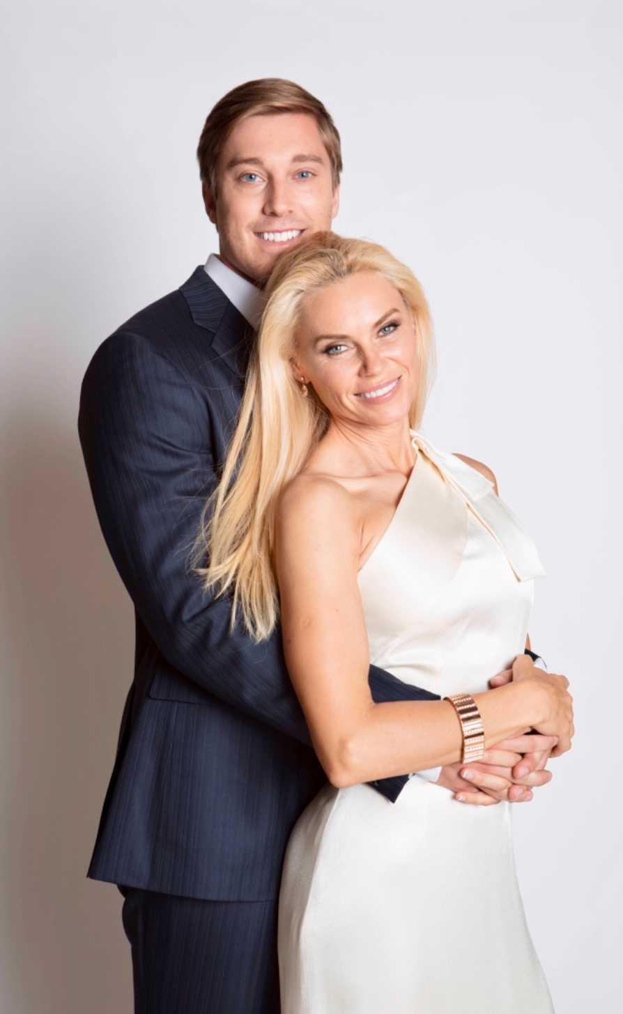 Anna Anka och David Johansson.