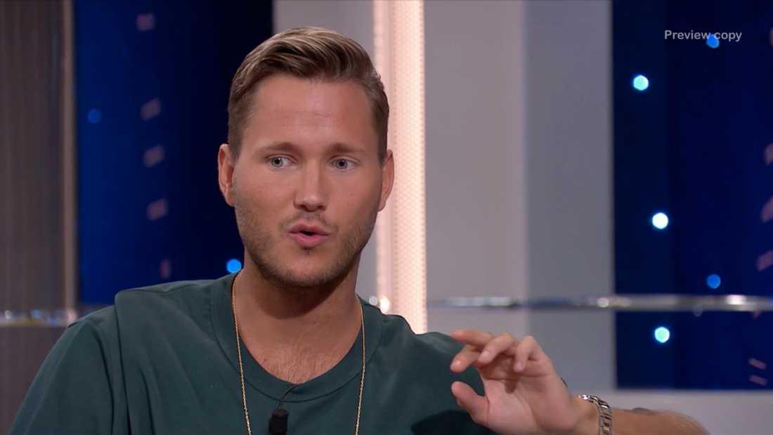 Viktor Frisk berättar om turnélivet i Sveriges Bästa i TV4