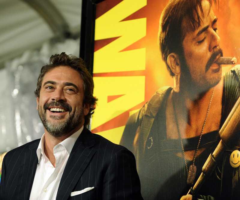 "Jeffrey Dean Morgan – under promotionturnén för ""Watchmen""."