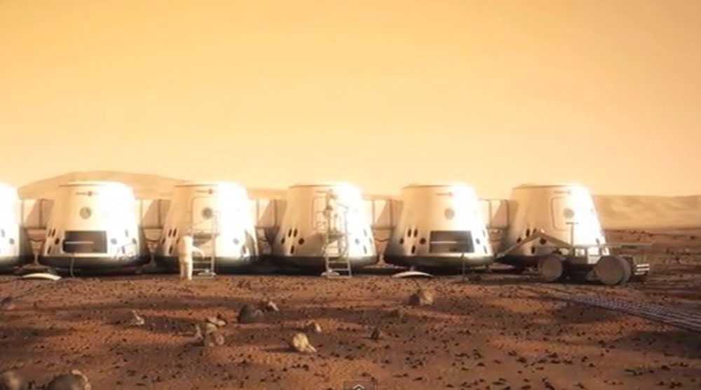 Det holländska företaget vill kolonisera Mars.