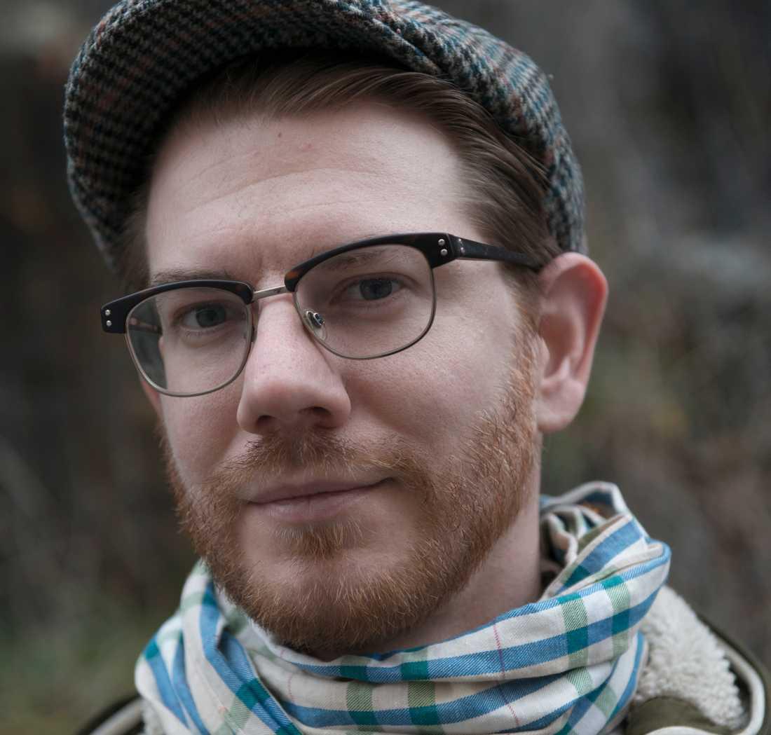 """Jonas Brun (född 1979) debuterade 2004 med """"Den andra tiden""""."""