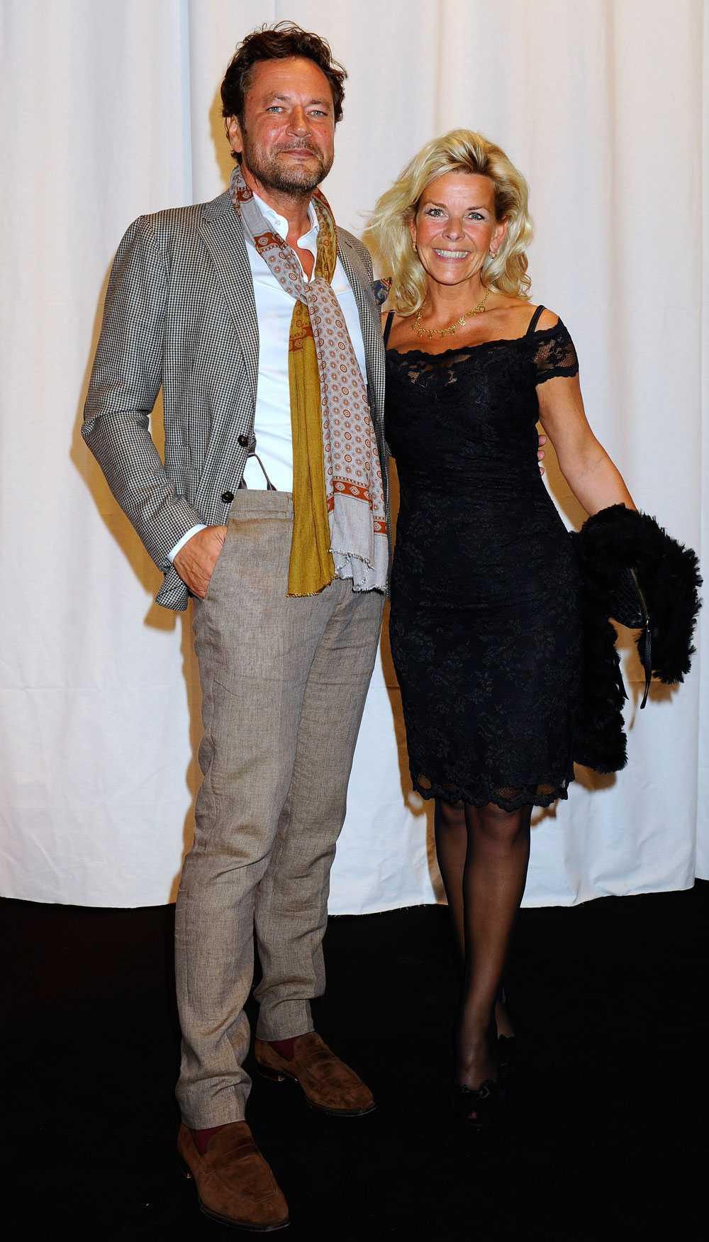 Anna Skipper och kärleken Bob Evertse.