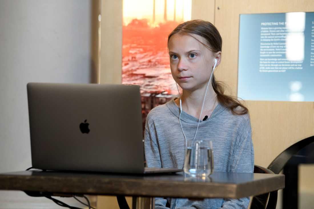 Klimataktivisten Greta Thunberg.