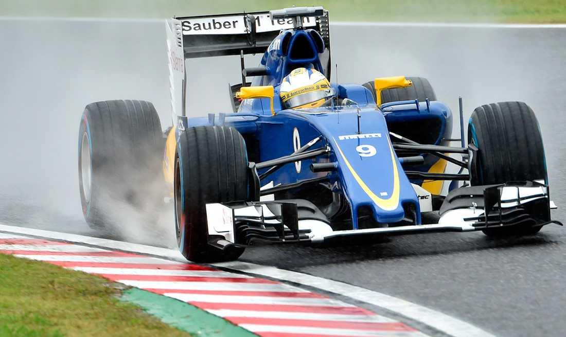 Marcus Ericsson fick bara till ett resultat.