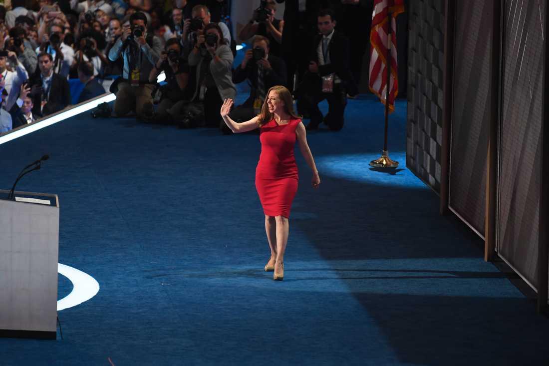 Chelsea Clinton.