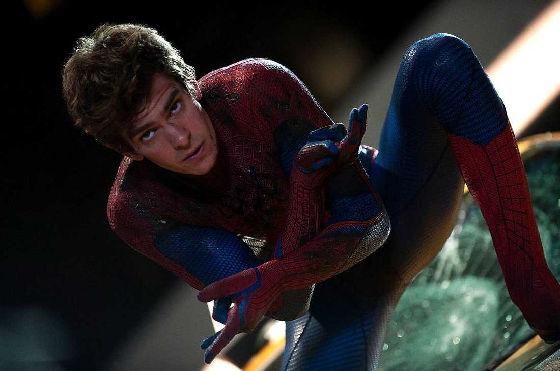 """Andrew Garfield tog över rollen i rebooten av """"Spider-man""""."""