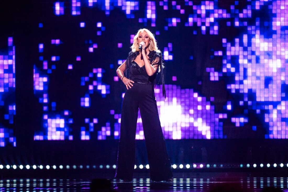 Jessica Andersson i Melodifestivalens final