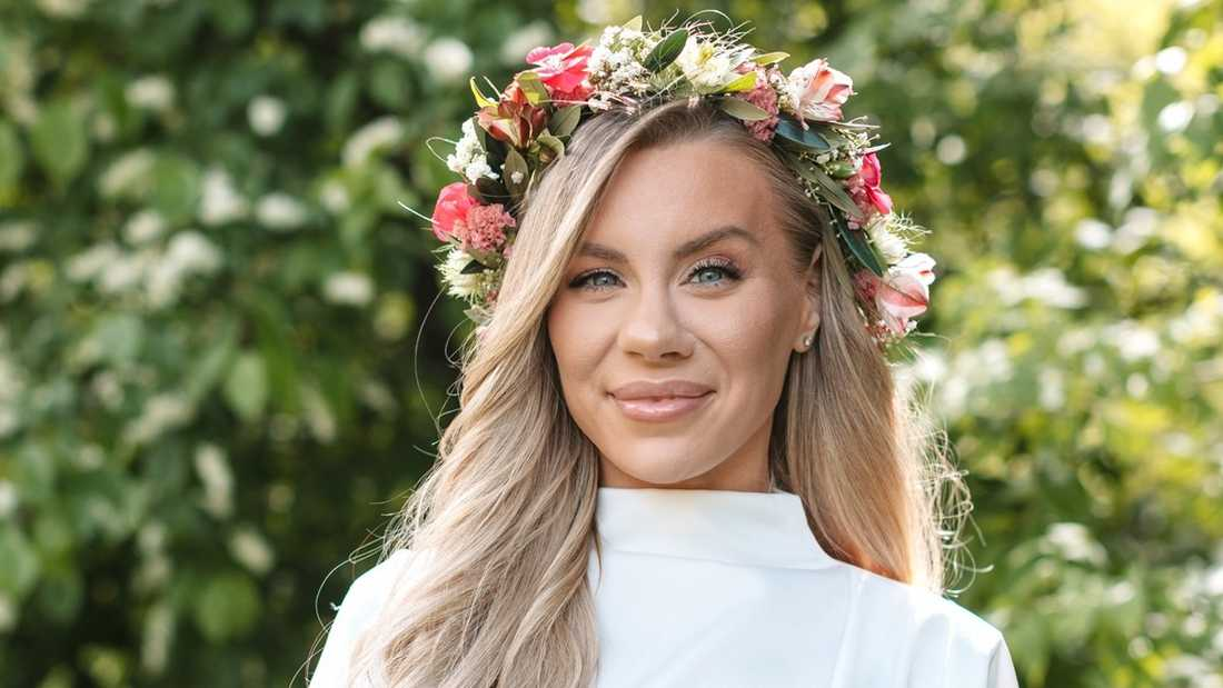Therese Lindgren, youtuber, utsedd till mäktigast inom sociala medier i Sverige.